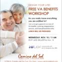 Design Your Life! FREE VA Benefits Workshop – Nov 15